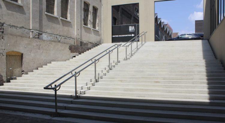Trappen in beton